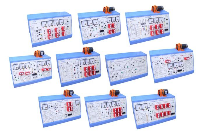 【 WST-23 】 Power Electronics Trainer - WOOSUN CONTROL CO., LTD.