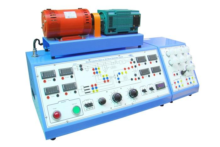 WSM-16 】 Synchronous Motor & DC Compound Generator Trainer -